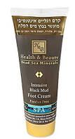 Крем для ног Health&Beauty с лечебной грязью Мёртвого моря, 200мл.