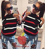 Женский модный шерстяной свитер