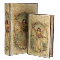 """Набор шкатулок в виде книги """"Ангел"""" 2 шт."""