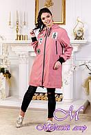 Женская модная демисезонная куртка (р. 44-54) арт. 1028 Тон 26