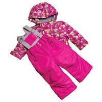 Комплект для девочек на флисе  «рыбалка» BabyLine V 106-16
