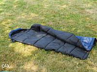 Спальник-одеяло с капюшоном