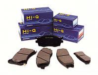 Колодки тормозные задние Kia Cerato(2009-) Hi-Q(SP1187)