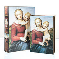 "Набор шкатулок-книг ""Младенец"" 2 шт."