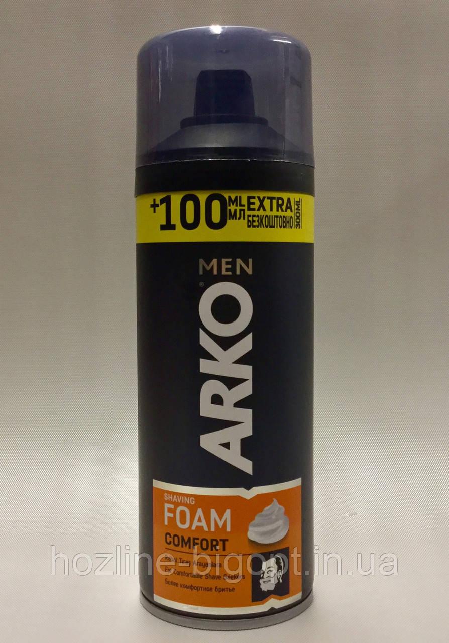 ARKO Пена для бритья Maximum Comfort 200мл