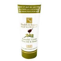 Крем для тела Health&Beauty на основе оливкового масла и мёда, 100 мл.