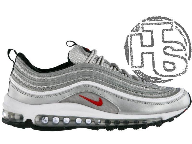 6f23b621 Мужские Кроссовки Nike Air Max 97 Silver Bullet OG QS 312641-069 — в ...