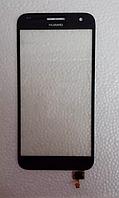 Оригинальный тачскрин / сенсор (сенсорное стекло) для Huawei Ascend G7 (черный цвет), фото 1