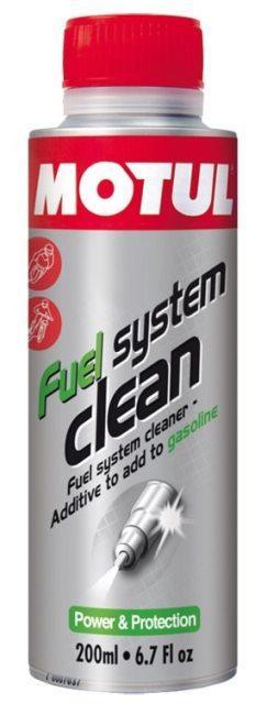 Промывка топливной системы мотоцикла Motul Fuel System Clean, 200мл