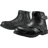 Мотоботы ICON 1000 El Bajo Boot Johnny черный 10 (44)