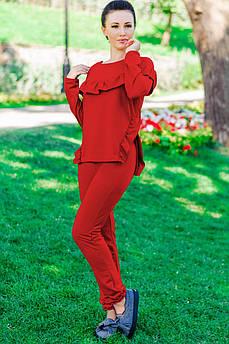 """Прогулянковий костюм """"Stefani"""", червоний"""
