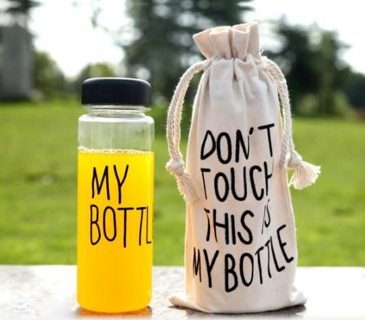 Бутылочка My Bottle 360 для напитков и фруктов + чехол, фото 1