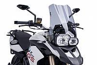 """Ветровое стекло Puig Touring F 650 GS """"08-12 / F 800 GS """"08-16 дымчатая тонировка"""
