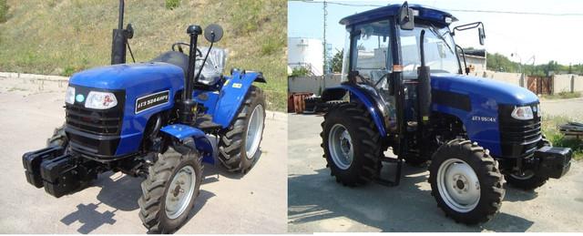 Новые модели тракторов ДТЗ: 5504К и 5244НРХ