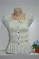 Хлопковая  женская футболка, фото 1