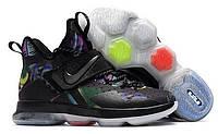 Nike LeBron 14 Crazy Colored. Мужские кроссовки для баскетбола. Мужские кроссовки.