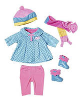 Осенний набор одежды для прогулок для куклы Baby Annabell Zapf Creation 823828