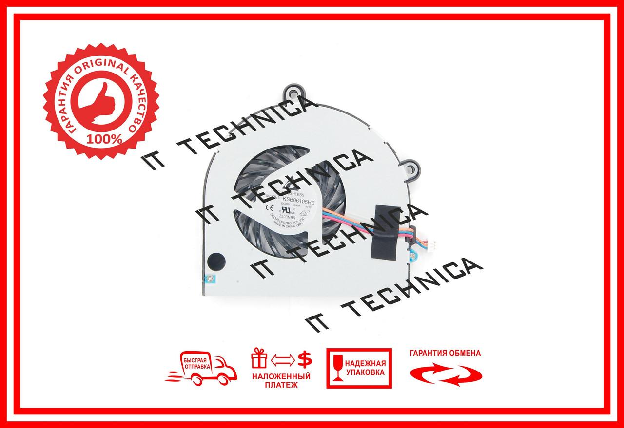 Вентилятор TOSHIBA Satellite P770 P775 P850 P855 (DC280009UD0 MF60090V1-C262) ОРИГІНАЛ Тип1