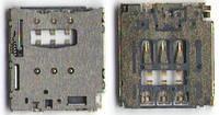 Разъем SIM карты Sony D2302 S50h Xperia M2 Dual Sim/D2303/D5102/D5103/D5106/M50w и планшетов Lenovo