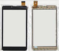 Тачскрин (сенсор) №017 для Assistant AP-735G /AP-755G , Kingvina PG707 184x104mm 30pin Чёрный