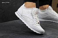 Мужские кожаные кроссовки Reebok Сlassic код 2936
