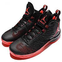 Баскетбольные кроссовки Air Jordan Super Fly 5 Black/Inf. Мужские кроссовки для баскетбола. Мужские кроссовки.