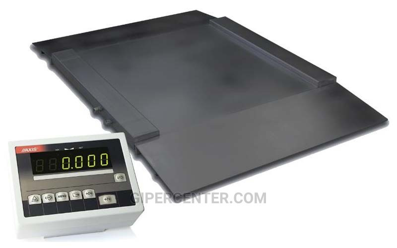 Наездные весы с пандусами 4BDU1500H ПРАКТИЧНЫЕ 1000х1250 мм (до 1500 кг)