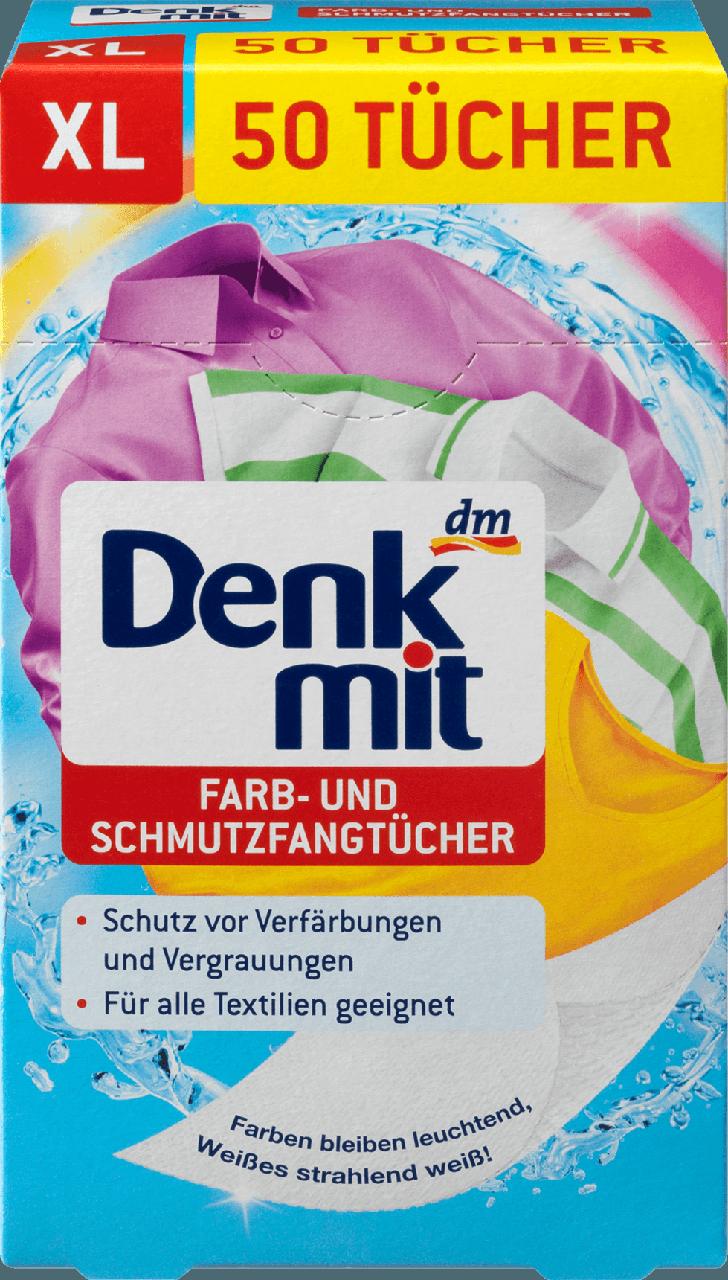Серветки для прання Denkmit Farb-und Schmutzfangtuchen