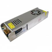 Блок питания 360W для светодиодной ленты DC12 30А узкий, металлический