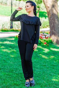 """Чорний костюм """"Stefani"""" до р. 52"""
