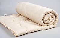 Одеяло овечья шерсть 195х215 Comfort Wool бежевый Lotus