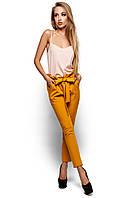 Стильні жіночі гірчичні брюки Blik