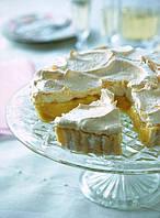 Пирог лимонный крем