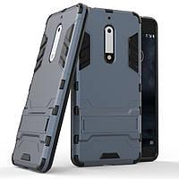 Чехол Nokia 5 Hybrid Armored Case темно-синий