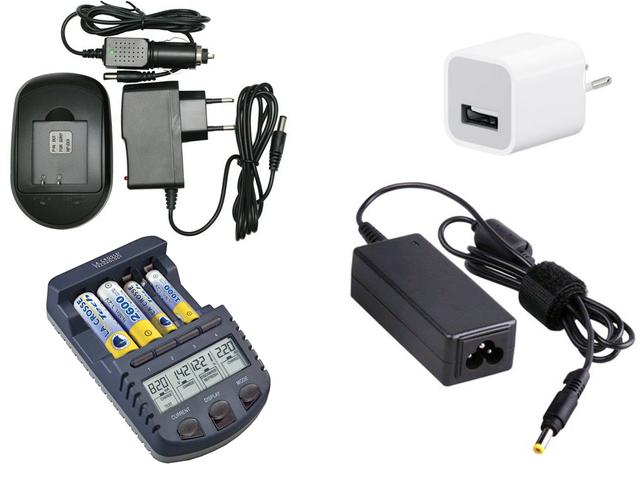 Блоки питания и зарядные устройства