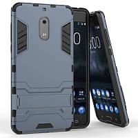 Чехол Nokia 6 Hybrid Armored Case темно-синий