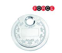 Щуп (монета) для измерения зазора между электродами свечи (Force 63008)