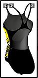 Купальник спортивний яскравий, фото 2