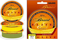Шнур Salmo Elite Braid YELLOW 125 m 0.33