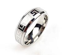Кольцо Stainless Steel Versace в серебряном цвете