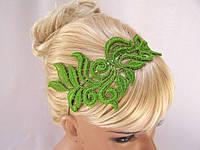 Ободок для волос кружево, цветы. Повязка для волос на выпускной, вечеринку, торжество..