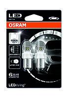 Автолампа світлодіодна OSRAM P21/5W LED 12V 2/0.4W 6000K BAY15D / LED RETROFITS PREMIUM / ХОЛОДНЫЙ-БЕЛЫЙ / 2 Ш