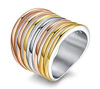 Широкое кольцо Stainless Steel Cartier