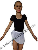 Юбка хитон для танцев белая