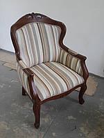 Кресло резное из натурального дерева