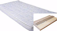 Детский матрас в кроватку для новорожденных Кокос-Поролон-Гречка