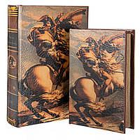 """Книги-шкатулки """"Наполеон"""" набор 2 шт. Историческая тематика"""