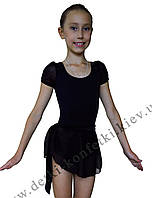 Юбка хитон для танцев черная