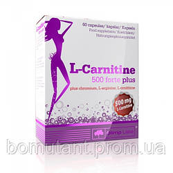 L-Carnitine 500 Forte Plus 60 капсул OLIMP