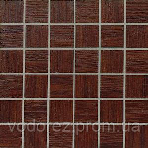 MOOD WOOD  MQCXP8 MOSAICO WENGE TEAK 30X30 X9,5mm, фото 2